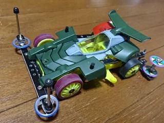 VS 試作機 トライダガー ポリカボディ